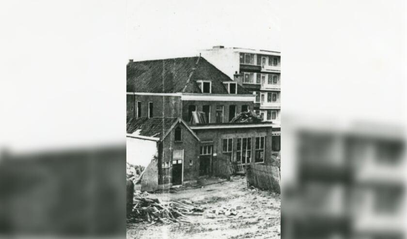 Oude VanKampenschool bij bouw Liesveld