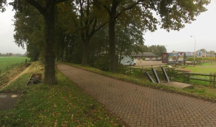 <p>De aspergeversperring aan de Schalm in Renswoude is hersteld. (Foto&#39;s: Stichting Grebbelinie)</p>