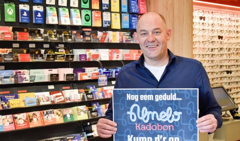 <p>Initiatiefnemer Martijn Rijssemus verwacht dat nog meer ondernemers gaan aansluiten bij de Almelo Kadobon.</p>