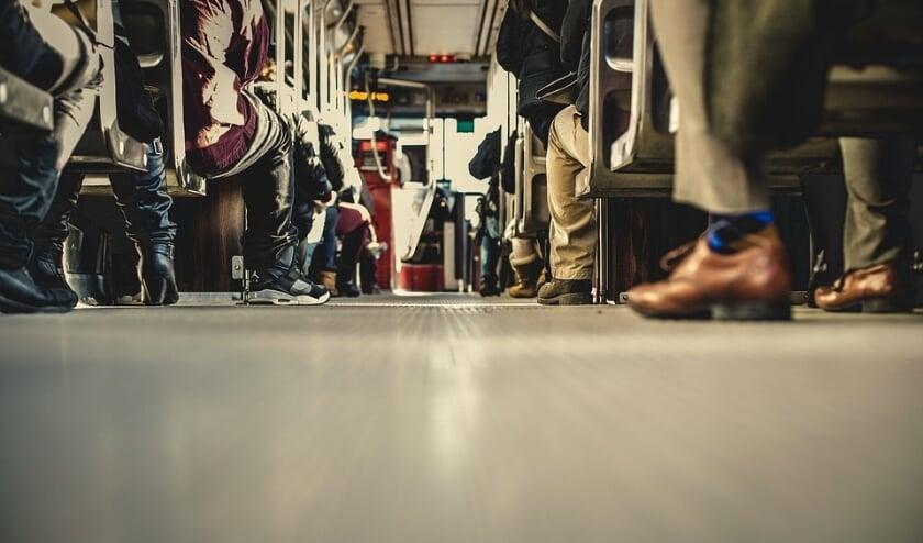<p>Het aantal reizigers is in 2020 flink afgenomen. (Foto: Priv&eacute;)</p>