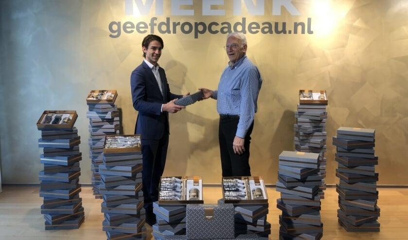 <p>Kleinzoon Nando werkt ook in het bedrijf dat zijn opa Tinus van Vliet heeft opgericht. Foto: PR</p>