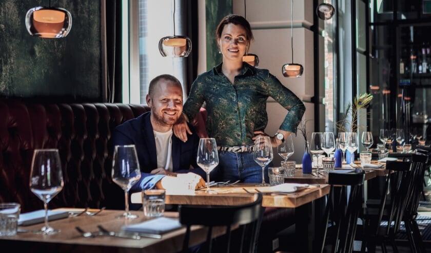 <p>Selina en Martin Kalkhoven blijven positief in deze tijd. Foto: Mirjam van Triest</p>