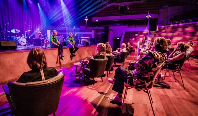 <p>TivoliVredenburg kondigt honderd nieuwe edities van de &#39;coronaproof&#39; concertreeks Walk The Line aan. Foto: Ben Houdijk</p>