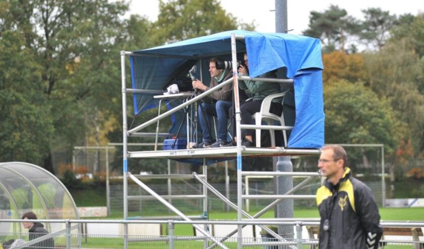 <p>Mark Koenderink volop in actie op het Wilhelminasportpark. Foto: gertbudding.nl </p>