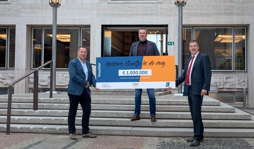 <p>De provincie Gelderland, KHN en HISWA-RECRON slaan de handen ineen en geven Gelderse ondernemers een extra steuntje in de rug. (foto: PR)</p>