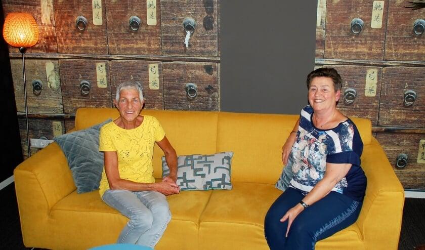 Íne van Dommelen en Joke van Beers vertellen over het mooie van het werken in het Bijna Thuis Huis.