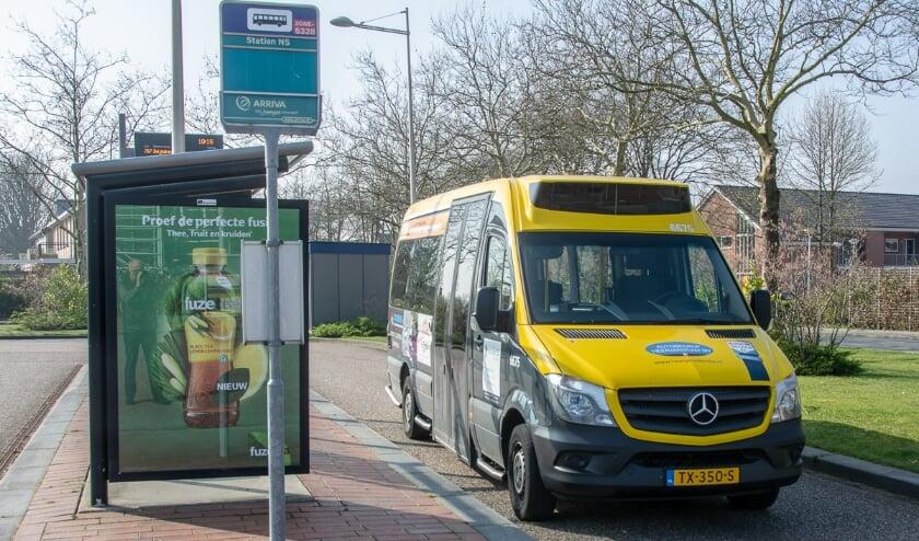 <p>De buurtbus rijdt pas vanaf februari 2021.</p>
