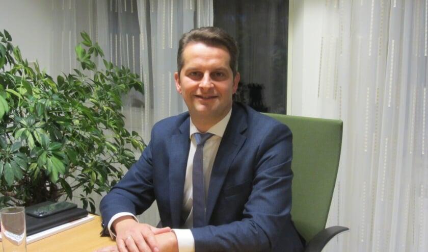 <p>Wethouder Andr&eacute; Flach (44) staat vierde op de kandidatenlijst van de SGP voor de Tweede Kamerverkiezingen in maart 2021. (Foto: Trudy Wehrmeijer)</p>
