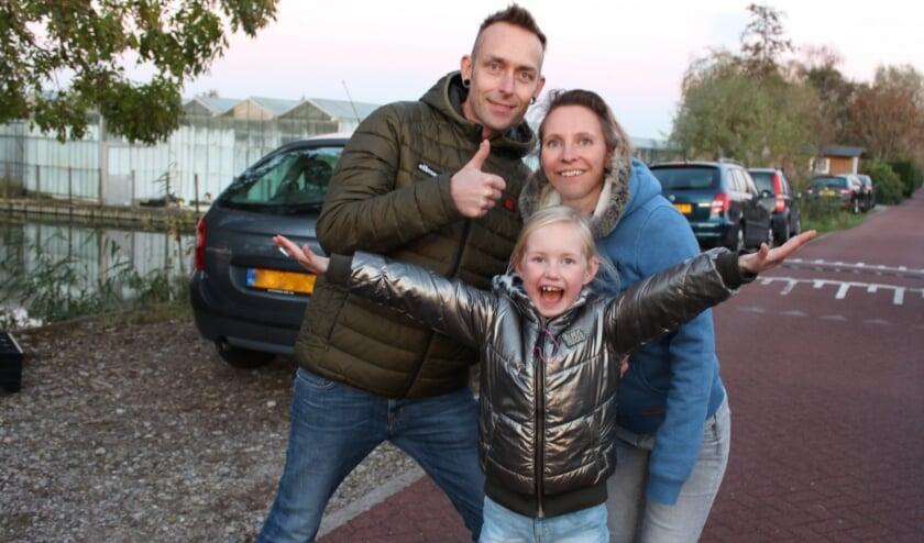 <p>Livia is de vlogmaster 2020. Haar ouders zijn ook superblij voor haar. Foto: Morvenna Goudkade</p>