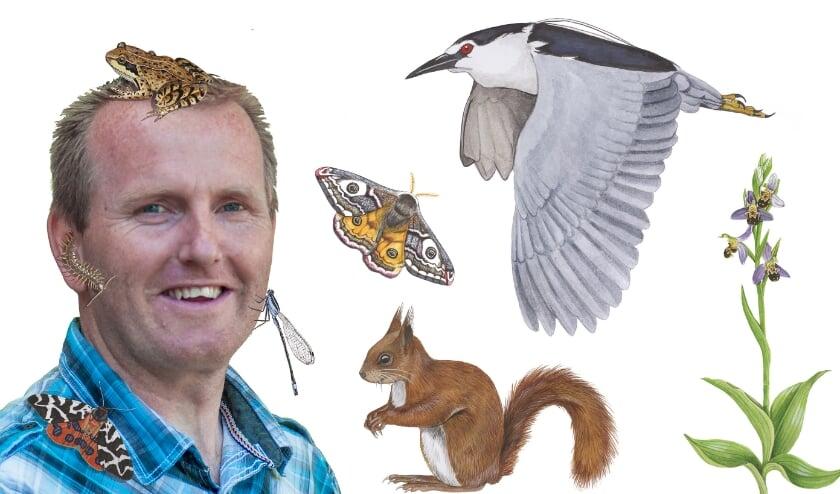 Wildlife-illustrator Jasper de Ruiter