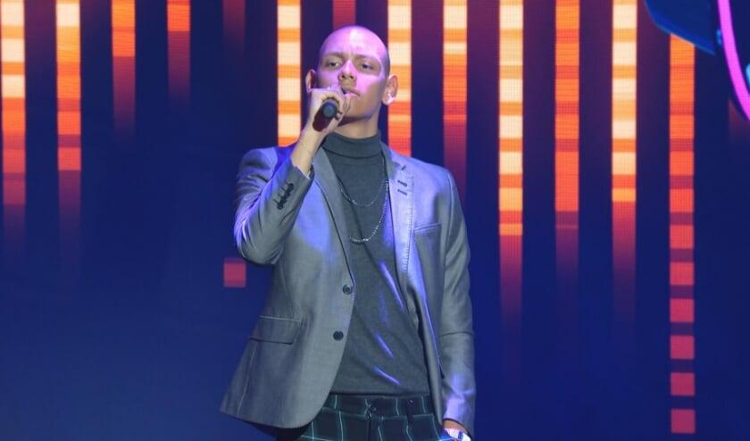 <p>Luke de Cort uit Hapert was donderdag te zien in programma &lsquo;I Can See Your Voice&rsquo;. (Foto: RTL Nederland)&nbsp;</p>