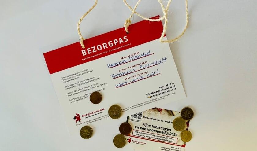 <p>Bezorging Maasstad biedt de bezorger de gelegenheid om digitaal de gift op te halen. (Foto: Priv&eacute;)</p>
