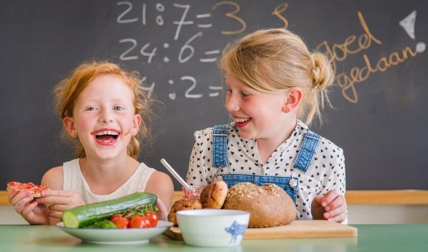 <p>Foto ter illustratie van een eerdere editie van het Nationaal Schoolontbijt. Foto: PR </p>