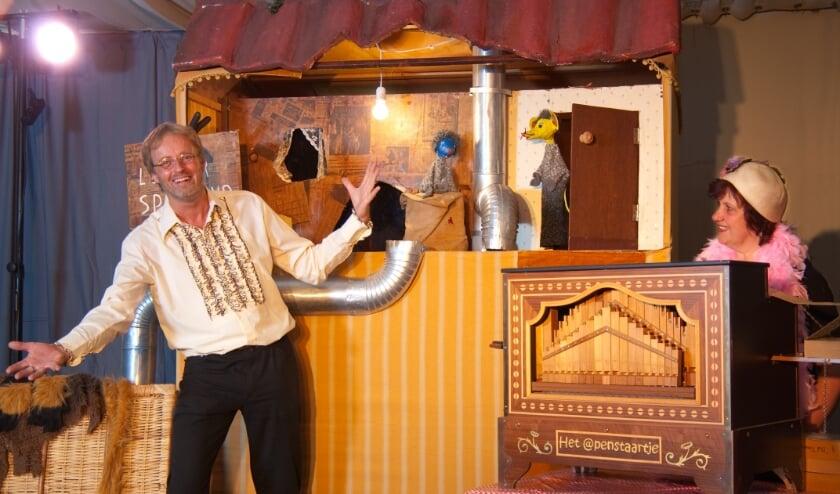 <p>Andr&eacute; van Theater Het @penstaartje. (foto: Henk-Jan van de Vate)</p>