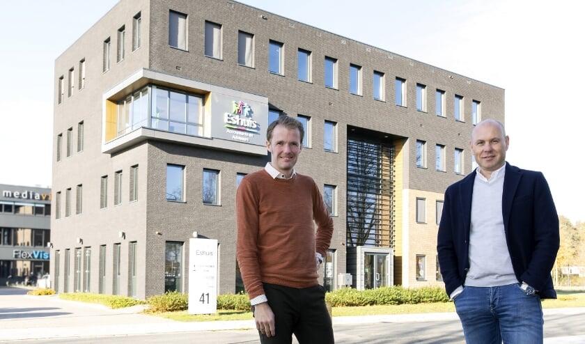 <p>J&ouml;rgen Peerik (Road 2 BI) en Michel Roelofs (Eshuis Accountants en Adviseurs)</p>