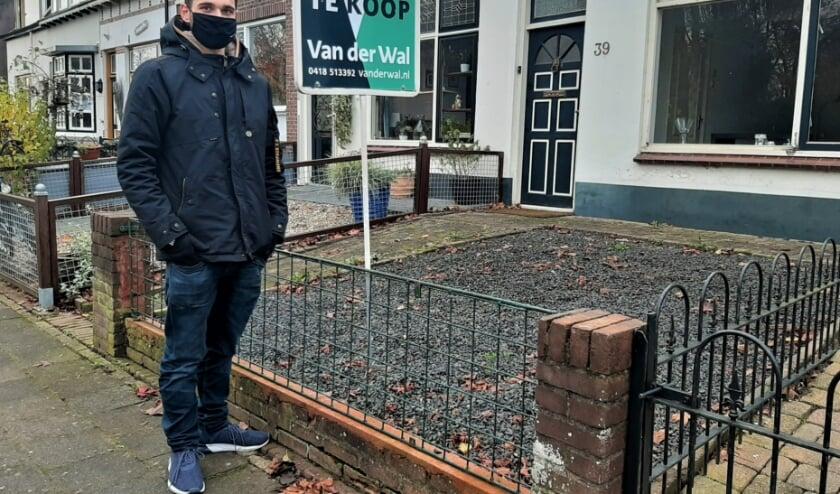 <p>Koen Ruigrok (24) uit Tiel woont nog bij zijn ouders en is op zoek naar een betaalbare eigen woning in Tiel.&nbsp;</p>