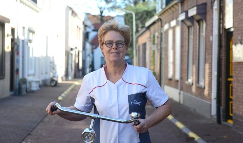 <p>Karin van de Sande: 'Corona heeft een enorme impact'.</p>