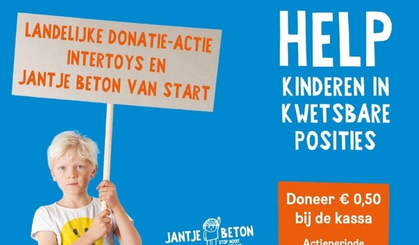 <p>Actie voor Jantje Beton.</p>