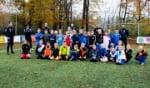 sv Hatto-Heim-hoofdtrainer Marcel van Walderveen traint de jeugd van JO9