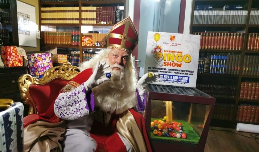<p>Niemand minder dan Sinterklaas gaat deze maand bingoballetjes trekken en iedereen maakt kans op mooie prijzen. (foto: PR)&nbsp;</p>