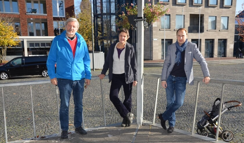 <p>Leden van de Adviesraad Sociaal Domein: Nico Droog, Freke van der Esch en Geert-Jan van Hal.</p>