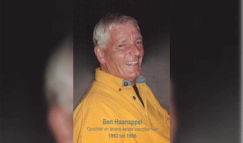<p>Erelid en oprichter van de VGC Ben Haanappel.</p>