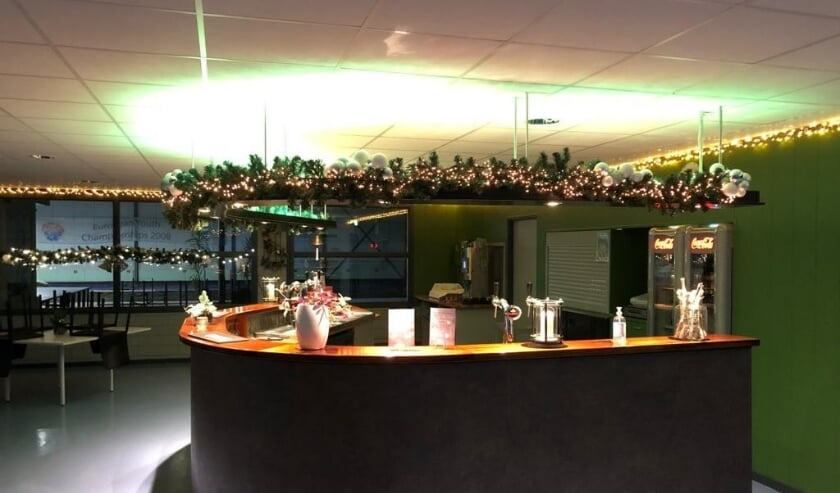 <p>De bar is al in kerststemming. (Foto: Priv&eacute;)</p>