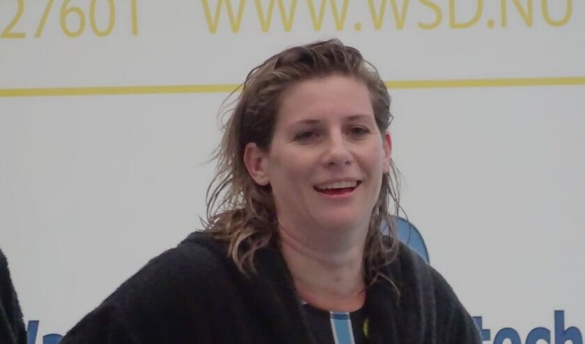 <p>Dani&euml;lle de Bruijn maakte vorig jaar in de kampioenswedstrijd tegen ZVL haar rentree in de hoofdmacht van ZVVS. Het smaakte naar meer. (foto: DPG/gsv) &nbsp;</p>