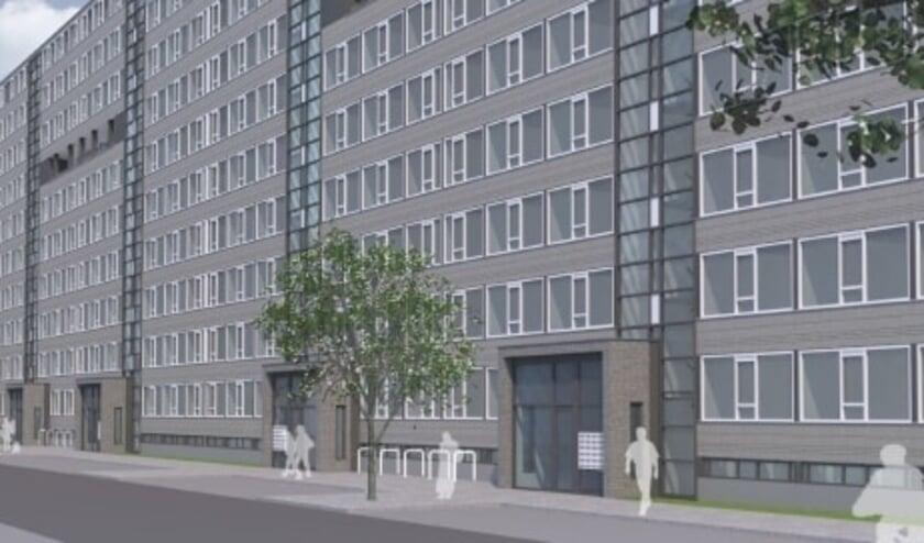 <p>Woningcorporatie Portaal en BAM Wonen verduurzamen 174 woningen aan de Nigerdreef in Utrecht. Beeld: BAM Wonen</p>