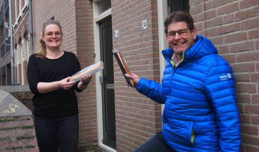 <p>Sofie Pook en Ruud Mantingh. (foto Zorgdat)</p>