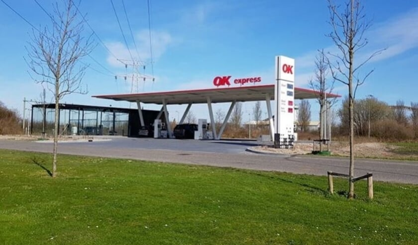 Tankstation OK aan de Oostsouburgseweg in Vlissingen levert de goedkoopste E10-benzine van Zeeland.