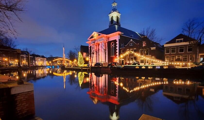 <p>Lange Haven met de Havenkerk. (Foto: Bart Bos)</p>