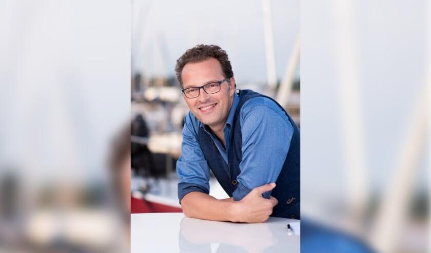 <p>Jeroen Latijnhouwers heeft zin in de nieuwe uitdaging: &quot;Het is mij een eer en een genoegen om Maya te mogen opvolgen.&quot; Foto: RTV Utrecht</p>