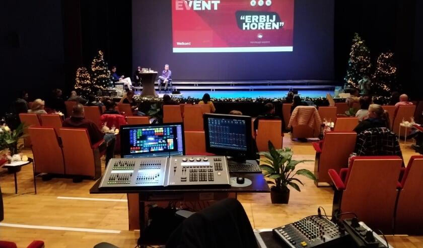 Voorstellingen streamen vanuit de theaterzaal