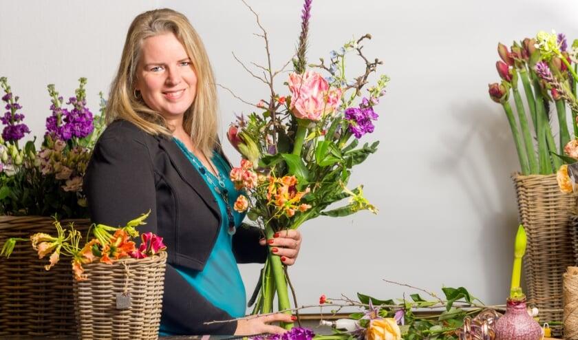 <p>Pauline: &quot;2021 wordt het jaar waarin mijn bedrijfspand de deuren opent. Er komt een grote opening in het voorjaar.&quot; Foto: Robin Bouwmeester</p>