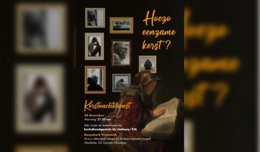 <p>&nbsp;&#39;En toch&hellip; toch kun je ervaren eenzaam te zijn, maar niet alleen&hellip;&#39;, zegt dominee Gertjan Glismeijer van Hervormd Vreeswijk. </p>