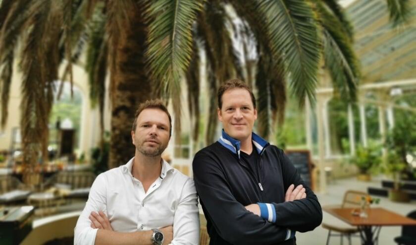 <p>Sjoerd Janszoon (links) en Michiel van Eunen van TeamPlay.</p>