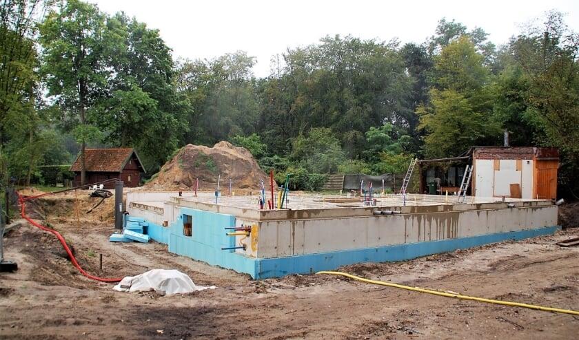 Aan de Rotte 2 wordt nmiddels weer verder gebouwd.