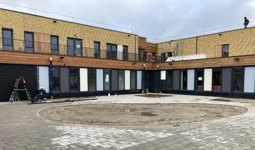 Het nieuwe schoolgebouw van De Bataaf is bijna klaar.