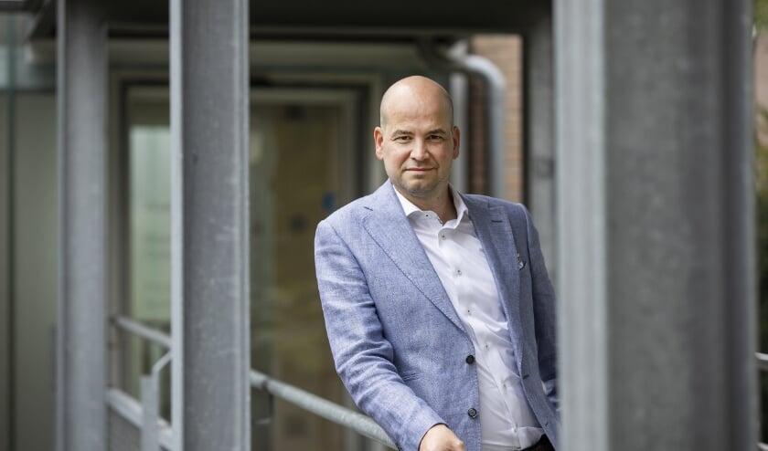 <p>Maarten Meulepas, de nieuwe directeur van Woningbelang. Foto: Vincent van den Hoogen.</p>