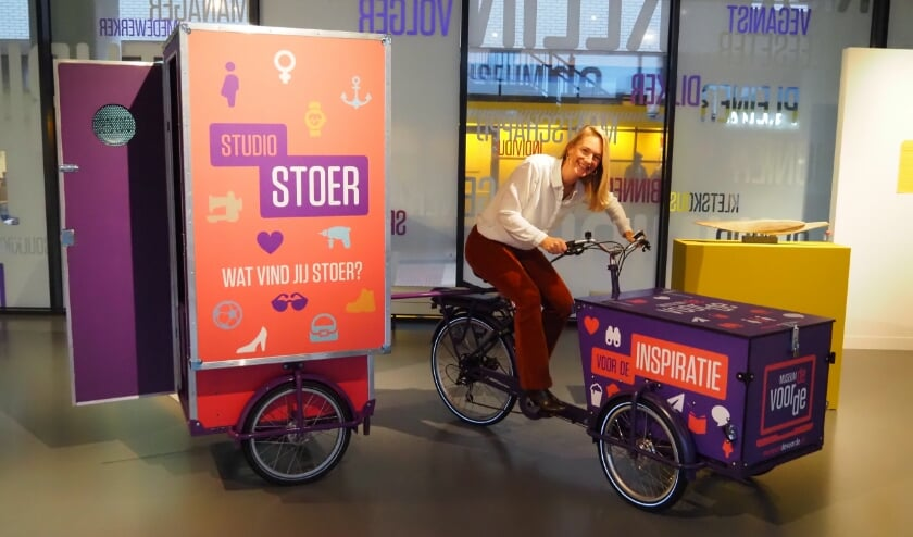 <p>Sabine Huls met het nieuwe project Studio Stoer. Foto: Archief/Gerard van Warmerdam</p>