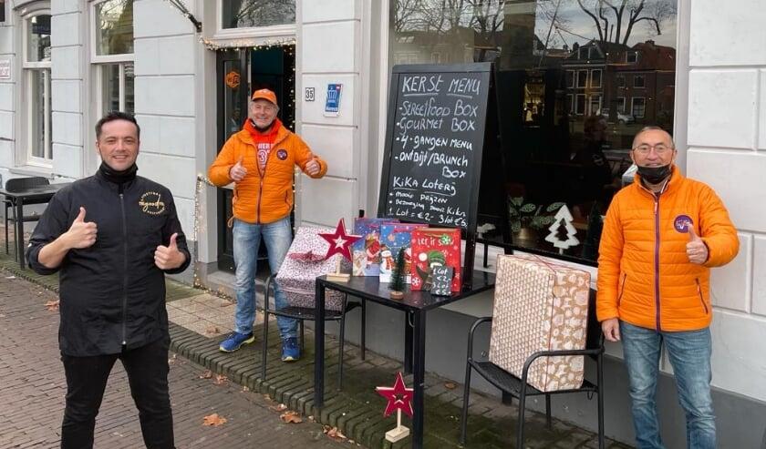 <p>&#39;Gelukkig kunnen wij voor acties altijd terecht bij restaurant The Good Food in Vreeswijk.&#39; Eigen foto&nbsp;</p>