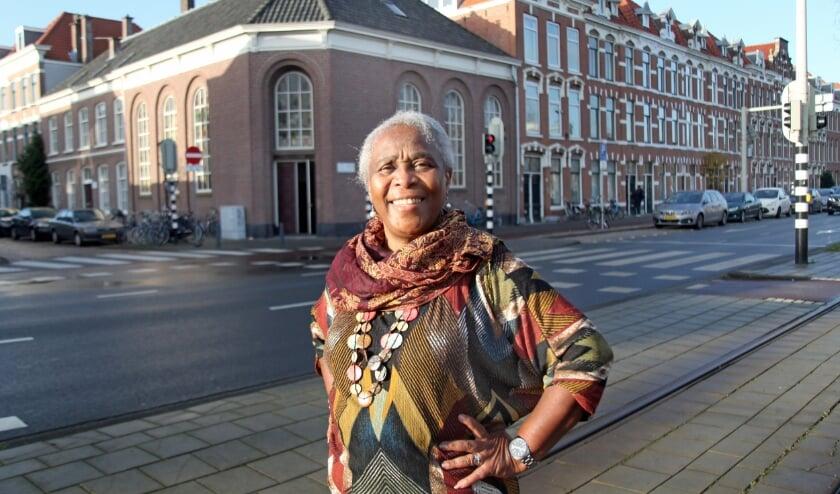 """<p class=""""Fotobijschrift"""" pstyle=""""Fotobijschrift"""">Annette Callender vindt dat ze goed is opgevangen door de kerk van de EBG in haar begintijd in Den Haag (Foto: Peter van Zetten).&nbsp;</p>"""