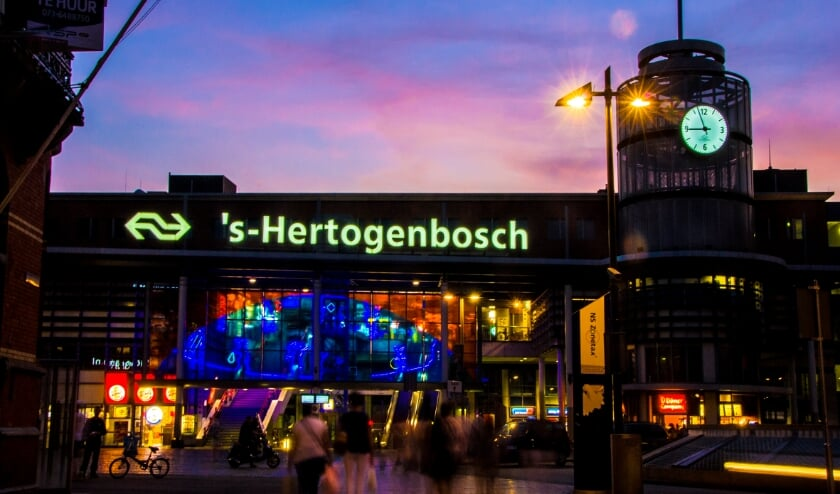 <p>Station &#39;s-Hertogenbosch.</p>