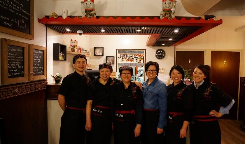 Welkom bij het geheel vernieuwde Chinees Restaurant Lin Fa!