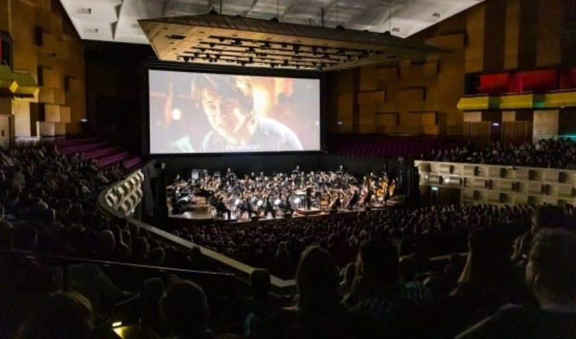Vertoning van Harry Potter door het Rotterdams Philharmonisch Orkest. (Foto: Rotterdams Philharmonisch Orkest)