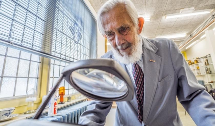 Dokter Bob Griffioen bleef tot op zeer hoge leeftijd gefascineerd door de medische wetenschap.