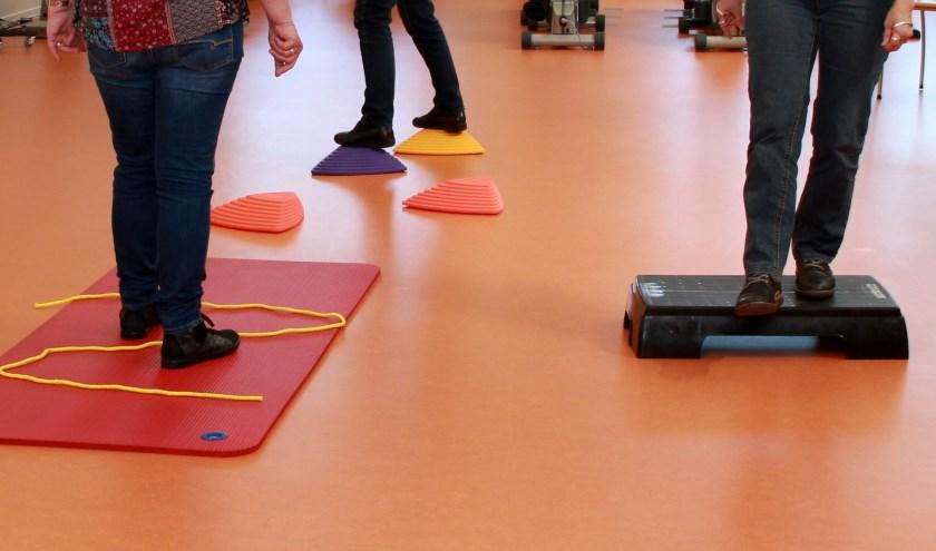 Balanstraining in de sportzaal