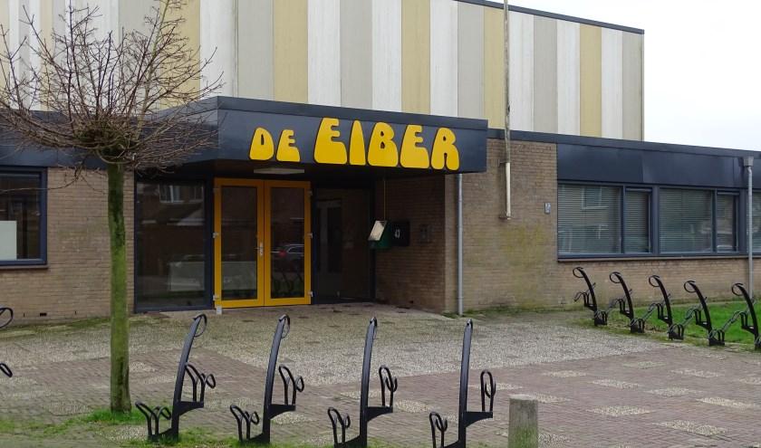 Is de Eiber de nieuwe plek voor een ontmoetingscafé? Als het aan Wim van Rooijen ligt wel. (Foto: Margreet Nagtegaal)