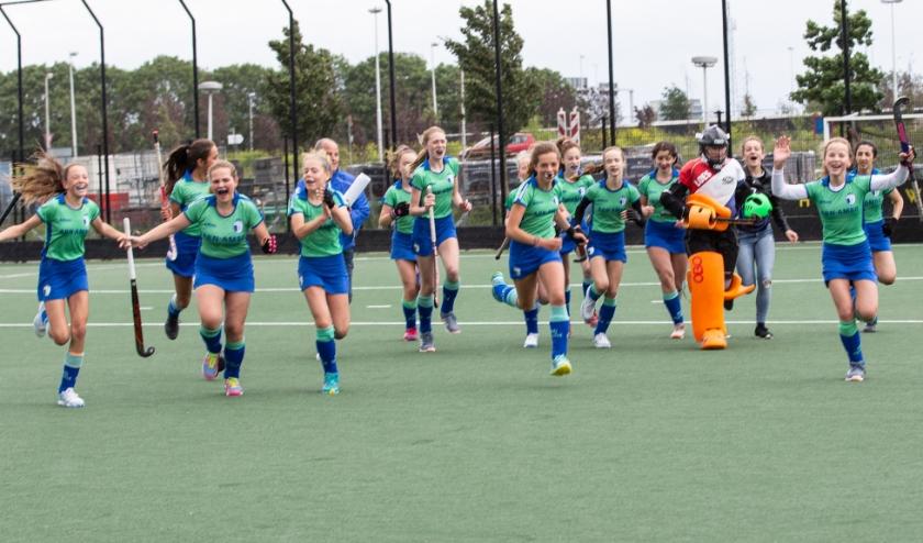 HC Rijnvliet is een hockeyvereniging waar spelplezier, sportiviteit en teamgevoel voorop staan. Eigen foto